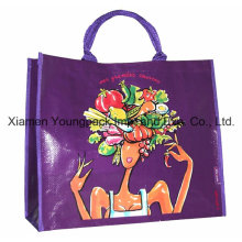 Heavy Duty Glossy Laminated PP Woven Shopper Carrier Bag