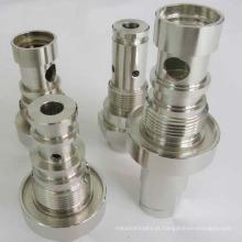 Eixo de alumínio para componentes industriais