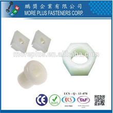 Hecho en Taiwán de alta calidad OEM ODM M6 M8 plástico insertar tuerca