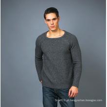 Camisola masculina de cashmere de moda 17brpv125