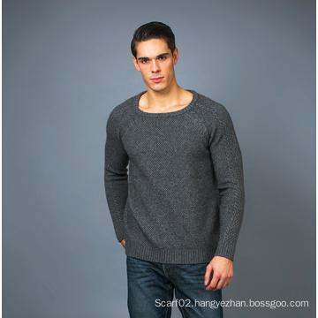 Men′s Fashion Cashmere Sweater 17brpv125