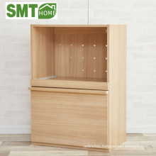 kitchen furniture microwave storage cabinet modular with socket