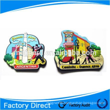 attractive scenery soft pvc fridge magnet magnetic toy