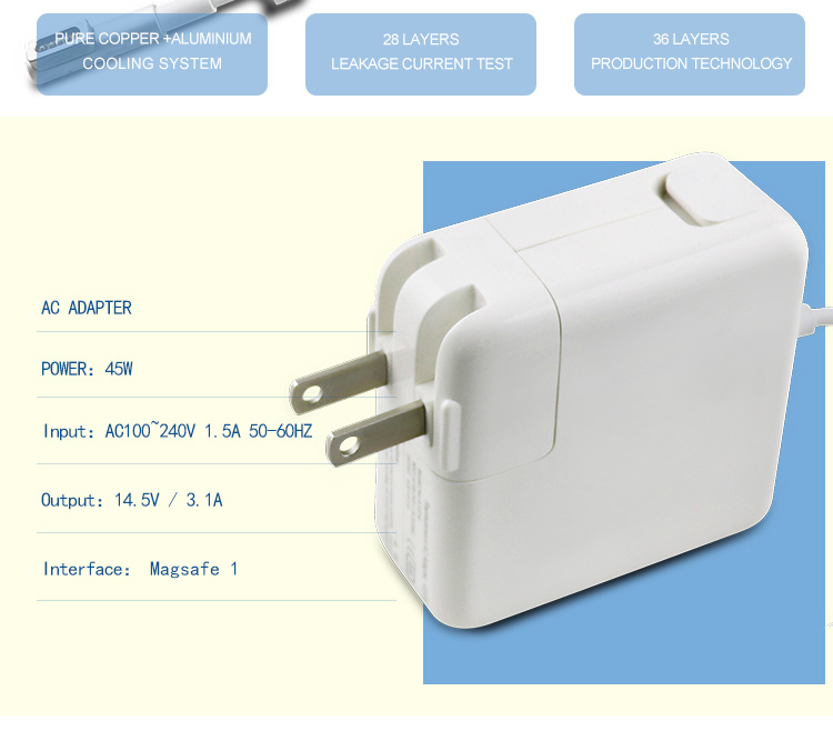 45w charger for macbook