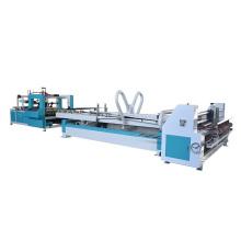 Full automatic folder gluer machine for corrugated carton box making machine press pasting box  machine