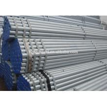 Tubo de aço redondo galvanizado Sch 40 erw