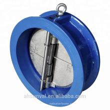 Válvula de retención de doble puerta