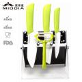 Eco Содружественные керамические набор ножей посуда с картофеля Овощечистка и держатель