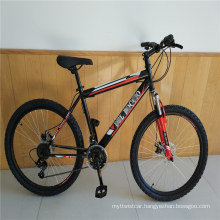 "Suspension Fork Hi Ten Steel Frame 26"" 21 Gear Cycling Mountain Bike Bicicleta Mountain Bicycle"