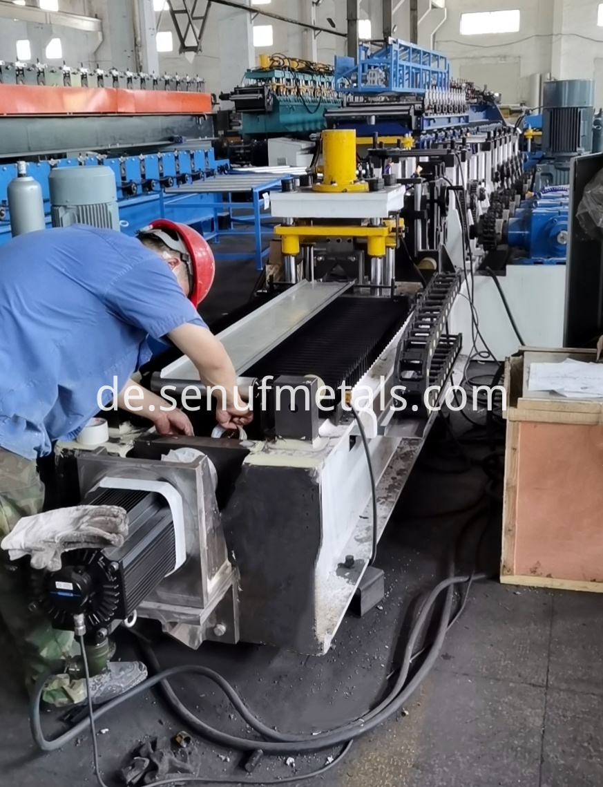 L bar iron steel forming line (4)