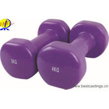 High Quality Colorful Neoprene Dipping Dumbbell