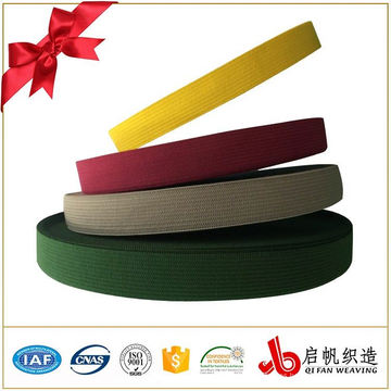 Sarga de punto elástico cinta fabricante