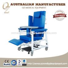 Sala de recuperación Silla de handicap para cuidado de la edad Silla de asistente de paciente