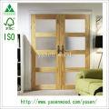 Porte en bois Shaker Style 4 Lite en pin clair