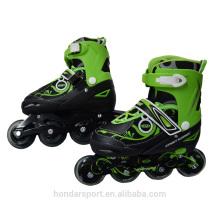 Hot seller design ajustável em linha sapatos de skate preço à venda