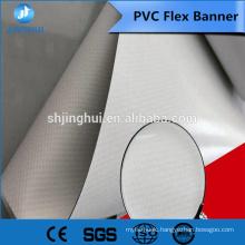 High printing perfoarmance manufacturer plant provide 500*500D/18*12 flex pvc vinyl banner rolls for eco solvent