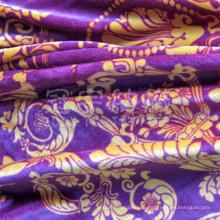 Домашнее украшение из полиэстера Brongzing замши ткань (GY003)