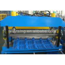 YTSING-YD-0375 Passed CE and ISO Authentication Glazed Roll Forming Machine for Single Layer Tiles