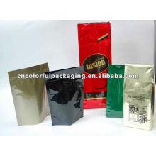 Gusset ou Doypack design Café / chá Embalagem sacos