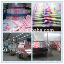 Tissu imprimé 100% polyester haute qualité
