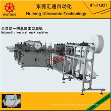 Automatic Ultrasonic Medical Face Mask Making Machine of 3 Tie on Mask Machine