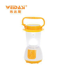 adjustable brightness rechargeable outdoor indoor solar hand lamp from China