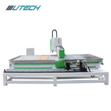 Aluminum Stone Cnc Router Processing With Rotary System