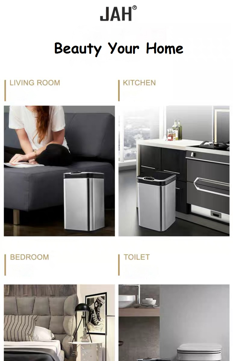 Dustbin litter can for living room kitchn bedroom toilet
