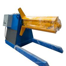 Производство палубного настила разматывателя металлического листа стальная катушка размотки автоматический лист разматыватель машины