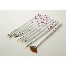 Vente en gros d'ongles en acrylique Nail Art Brush Set 9 Pieces