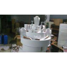 Elegantes weißes PU-MDF-Multifunktionsschmucksache-Anzeigen-Großverkauf (WST-WY-LTX)