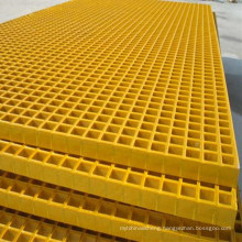FRP Molded Grating High Strength FRP Grating For Chemical Plant