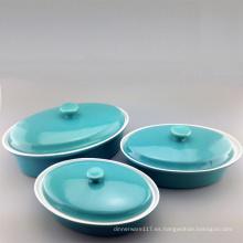 Color personalizado Bakeware de cerámica (set)