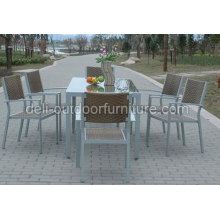 Garden Modern Dining Table With Chairs Set
