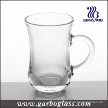 Round Bottom Glass Coffee Mug (GB090105)