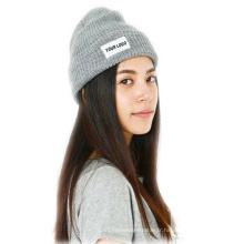 Couleur chaude de chapeau de bonnet tricoté par vente chaude