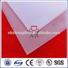 feuille de polycarbonate diffuseur / prisme diffuseur pour éclairage led