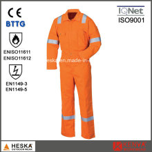 Customized Workwear Mens Fr Coverall Safety Flame Retardant Coverall