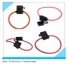 12V Universial Electronic Car Blade Atc Fuse Holder in-Line with 10 Gauge Wire Harness