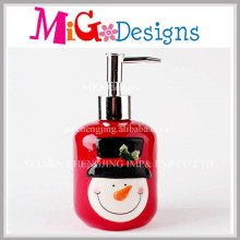 Home Creations Christmas Theme Ceramic Lotion Pump Bottle