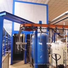 Linha de produção de pintura de eletroforese para a seção de alumínio