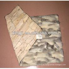 Plato de piel de conejo chinchilla de Chnese