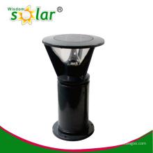High power CE Stainless steel solar bollard light for garden/park/fence solar lighting(JR-B013)