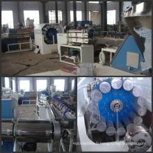Machine de tuyau de PVC, ligne flexible de tuyau de fibre de PVC
