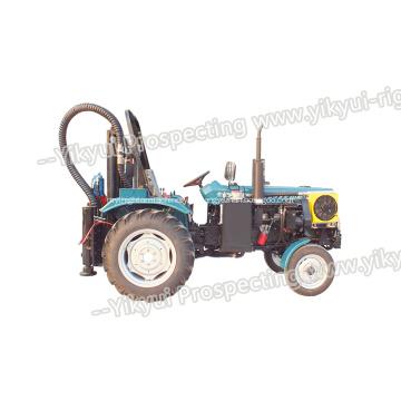 Máquina de perfuração fotovoltaica para perfuração de estacas, terreno agrícola