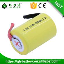 ni-mh rachargeable 4/5 SC 1200mah 1.2v battery