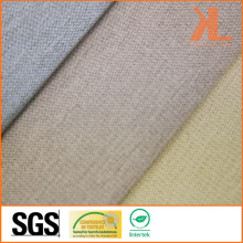 Polyester Wide Width Inherently Flame Retardant Fireproof Linen Look Blackout Fabric