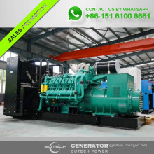 Silent 1600KVA DIESEL GENERATOR with Googol engine for standby power