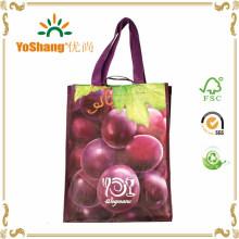 China Manufacturer Custom Printed Shopping BOPP Laminated Recycled PP Woven Bag