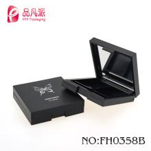 2016 New black square empty compact powder case